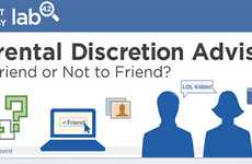 Boomer Social Media Infographics - The 'Parental Discretion Advised' Infographic is Surprising