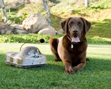 Battery-Operated Canine Companions - The Go-Go Dog Pal Gives Pooches Something to Chase