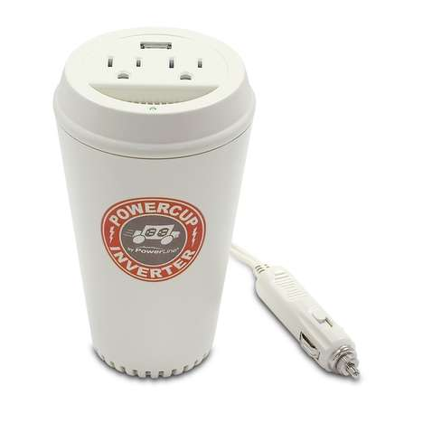 coffee cup electricity plugs the powerline powercup conveniently plugs into