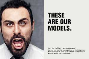 Piazza Italia Role Model Campaign Enlists Help of Everyday Heroes