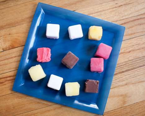 summery flavored ice cubes diana hardemans tropical sorbet bites are refres