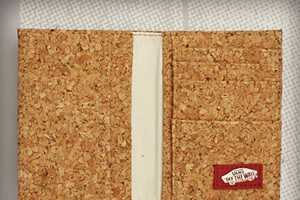 The Vans Authentic Bi-fold Cork Wallet is Industrial