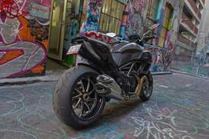 The 2012 Ducati Diavel Combines Power with Comfort