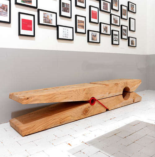 Clothes Pin Seating