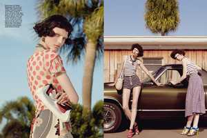 The Vogue Italia May 2012 'Suggestions' Photoshoot is Primarily Vintage