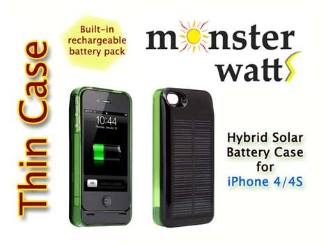 solar powered phone chargers vivealives hybrid iphone case charges your pho
