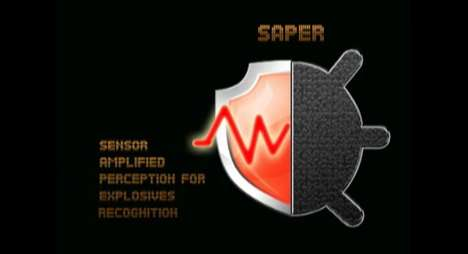 saper explosives recognition software