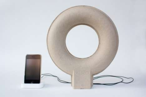 pulpop paper speakers by balance studio