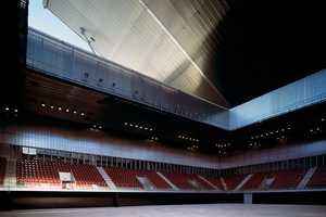 The Dominique Perrault Olympic Tennis Centre Roof Has 27 Configurations