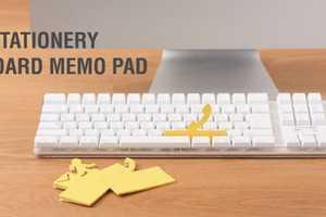 The Muji Keyboard Memo Pad Makes Life Adorably Easier