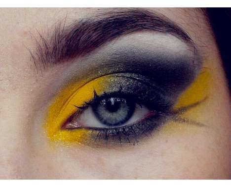 pop culture tributing eye looks