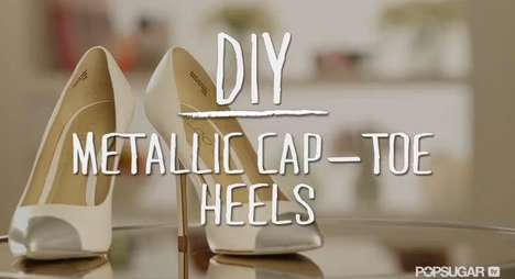 diy cap toe heels