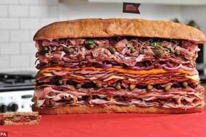 The World's Meatiest Sandwich is Mammoth