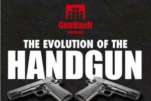 The 'Evolution of the Handgun' Infographic is Historical