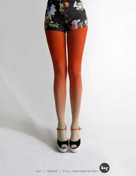 ombre tights from bzr shop