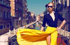 The Marie Claire Turkey June 2012 Photoshoot Stars an Elegant Viola Kowal