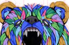 Geometric Animal Art