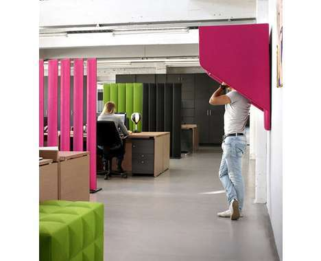 privacy-encouraging office furniture