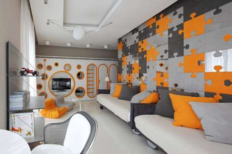 geometrix design russian apartment