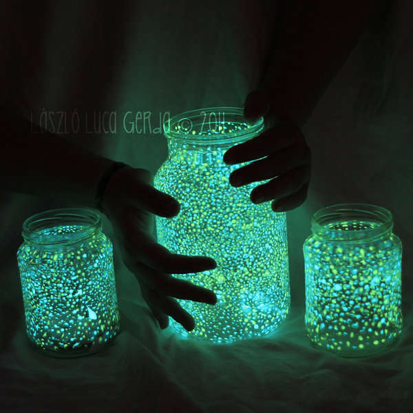 DIY Glowing Containers