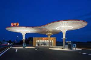 The Gas Station by Atelier SAD is Streamlined