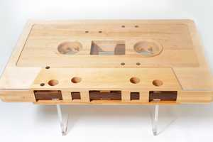 This Reinvention from Jeff Skierka Designs Replicates a Mixtape