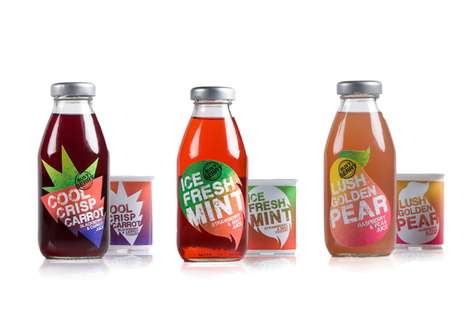 Sun-Bleached Fruit Branding - Siobhan Cotter Creates Vivacious Packaging for Busy Berry