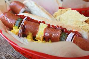 Switch Up Your Summer Menu with these Fun All-American Hot-Dog Kabobs