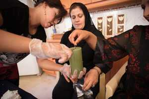 Buying a Prosperity Candle Helps Women Refugees Open a Business