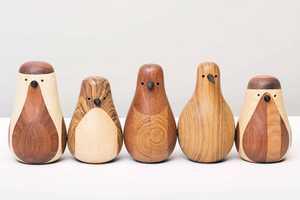 Lars Beller Fjetland Crafts Birds Using Old Furniture Parts