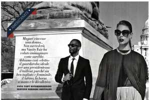 Vanity Fair Italy Imagines an American Woman Leader
