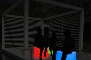 The Thumbs Up! LED Cube Will Light Up Your Party