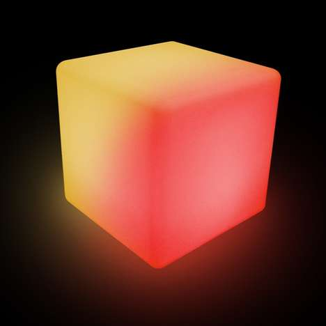 thumbs up led cube