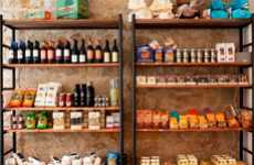 Anti-Mafia Co-Operative Products - The Ethicando Store in Paris Stocks Fairtrade Food and Designs