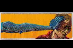 Frederico Uribe Creates Art Pieces Out of Writing Utensils