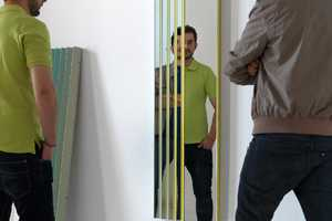 The MUT 'Zig Zag' Mirror Makes You Question Reality