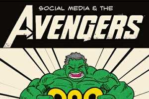 The 'Impact of The Avengers' Infographic is Comic-Inspired