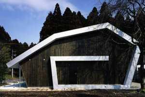 The Cinnamon Roll House by Katsutoshi Sasaki is Geometric