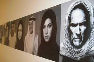 The Mohammed Kanoo Portraits Show Stars Wearing Arab Clothing