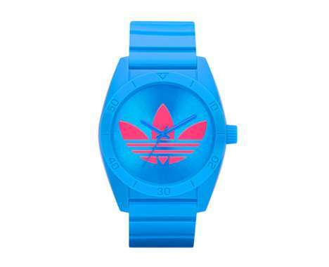 candy colored timepieces