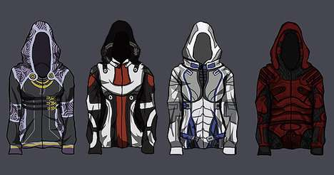 Mass Effect Hoodie Project