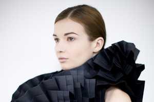 Morana Kranjec's Folded Paper Dresses Boast Bold Structures