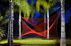 Intricate String Installations