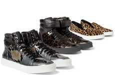 Luxury Animal-Printed Kicks