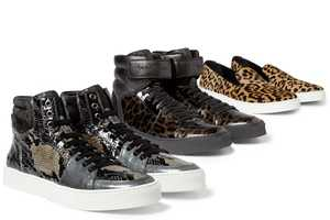 These Yves Saint Laurent Sneakers are Outrageously Wild.