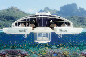 Solar Floating Resort is Always on the Move With Ultimate Views