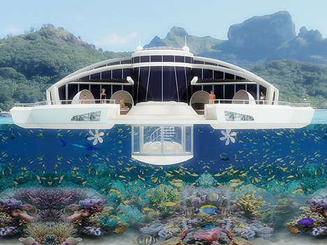 solar floating resort