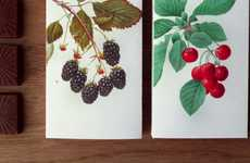 Botanist Confectionary Branding - Schwarz Wald Chocolate Packaging Alludes to Attentive Creation