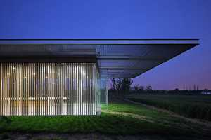 The Harvest Pavilion Takes Architectural Cues from Agricultural Land