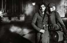 Melodramatic Trench Ads - The Burberry Fall 2012 Campaign Stars Gabriella Wilde and Roo Panes